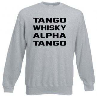T.W.A.T Sweatshirt - Grey, 3XL