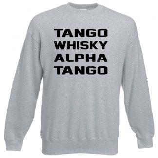 T.W.A.T Sweatshirt - Grey, 3XL