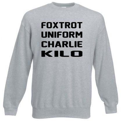 F.U.C.K Sweatshirt - Grey, 3XL