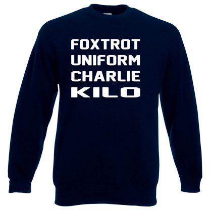 F.U.C.K Sweatshirt - Navy, 3XL