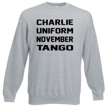 C.U.N.T Sweatshirt - Grey, 3XL