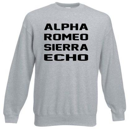 A.R.S.E Sweatshirt - Grey, 3XL