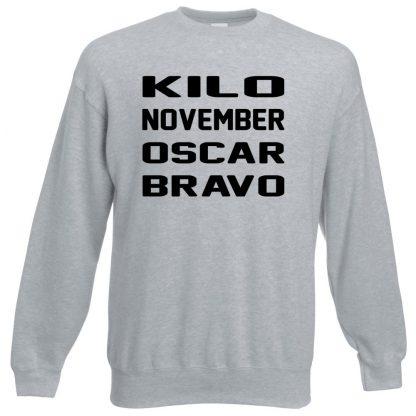 K.N.O.B Sweatshirt - Grey, 3XL