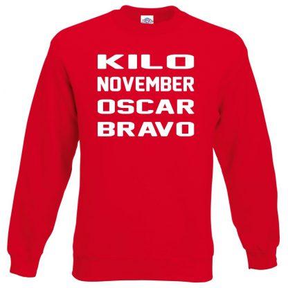K.N.O.B Sweatshirt - Red, 2XL