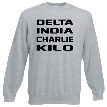 D.I.C.K Sweatshirt - Grey, 3XL
