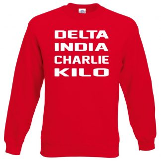 D.I.C.K Sweatshirt - Red, 2XL