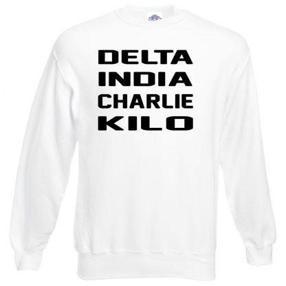 D.I.C.K Sweatshirt - White, 3XL