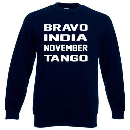 B.I.N.T Sweatshirt - Navy, 3XL
