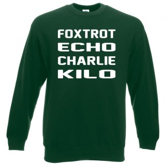 F.E.C.K Sweatshirt - Bottle Green, 2XL