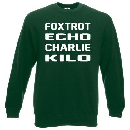 F.E.C.K Sweatshirt - Bottle Green, 2XL