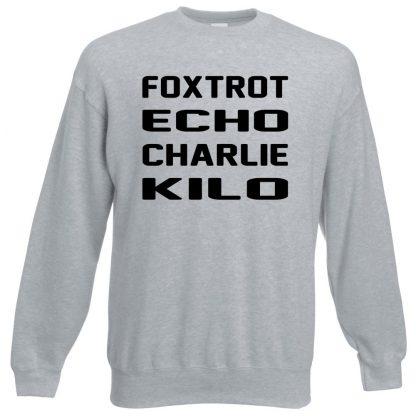 F.E.C.K Sweatshirt - Grey, 3XL