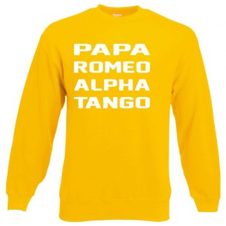P.R.A.T Sweatshirt - Yellow, 2XL