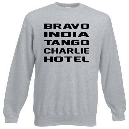 B.I.T.C.H Sweatshirt - Grey, 3XL