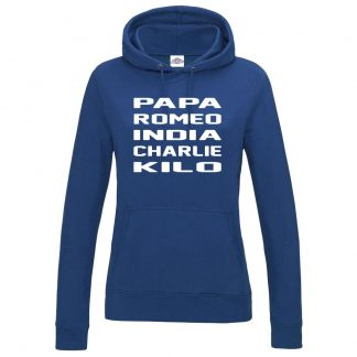 Ladies B.R.I.C.K Hoodie - Royal Blue, 18