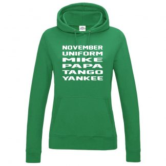 Ladies N.U.M.P.T.Y Hoodie - Kelly Green, 18