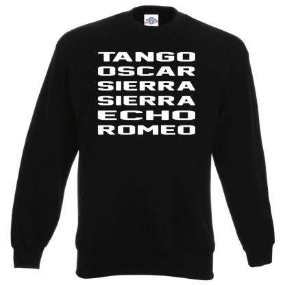 T.O.S.S.E.R Sweatshirt - Black, 3XL