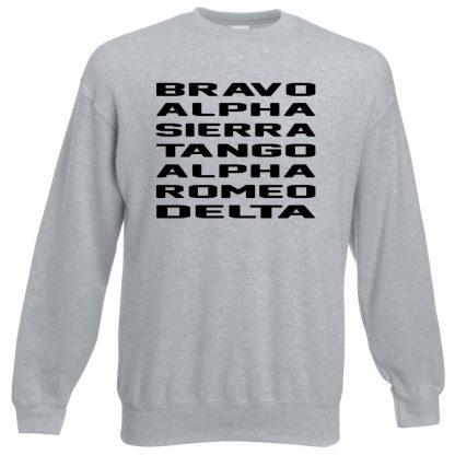 B.A.S.T.A.R.D Sweatshirt - Grey, 3XL