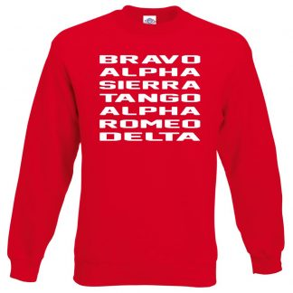 B.A.S.T.A.R.D Sweatshirt - Red, 2XL