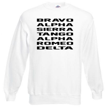 B.A.S.T.A.R.D Sweatshirt - White, 3XL