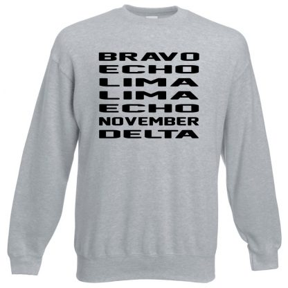B.E.L.L.E.N.D Sweatshirt - Grey, 3XL