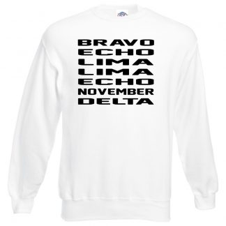 B.E.L.L.E.N.D Sweatshirt - White, 3XL