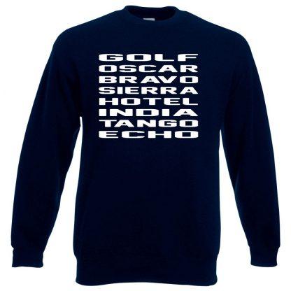 G.O.B.S.H.I.T.E Sweatshirt - Navy, 3XL