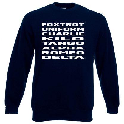 F.U.C.K.T.A.R.D Sweatshirt - Navy, 3XL