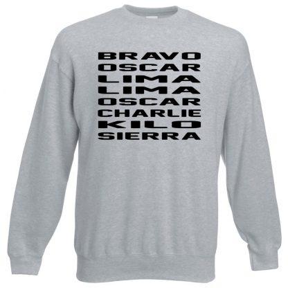 B.O.L.L.O.C.K.S Sweatshirt - Grey, 3XL