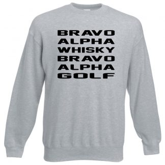 B.A.W.B.A.G Sweatshirt - Grey, 3XL