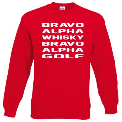 B.A.W.B.A.G Sweatshirt - Red, 2XL