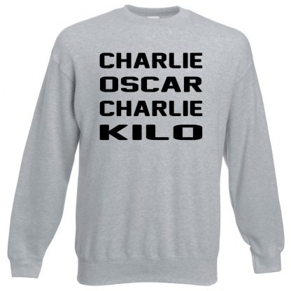 C.O.C.K Sweatshirt - Grey, 3XL