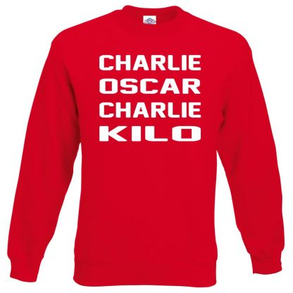 C.O.C.K Sweatshirt - Red, 2XL
