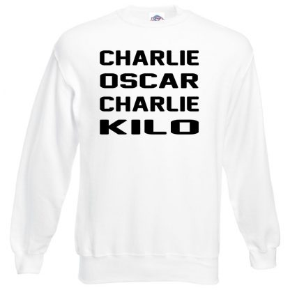 C.O.C.K Sweatshirt - White, 3XL