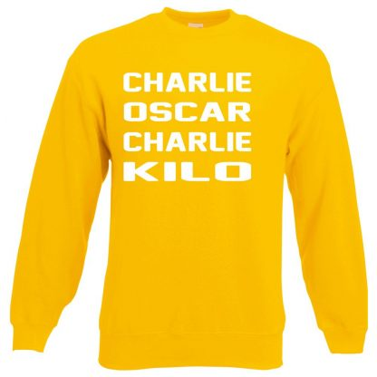 C.O.C.K Sweatshirt - Yellow, 2XL