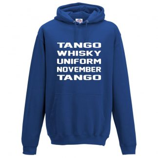 Mens T.W.U.N.T Hoodie - Royal Blue, 3XL
