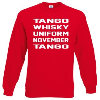 T.W.U.N.T Sweatshirt - Red, 2XL