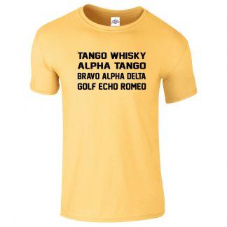Mens T.W.A.T.B.A.D.G.E.R T-Shirt - Daisy, 2XL